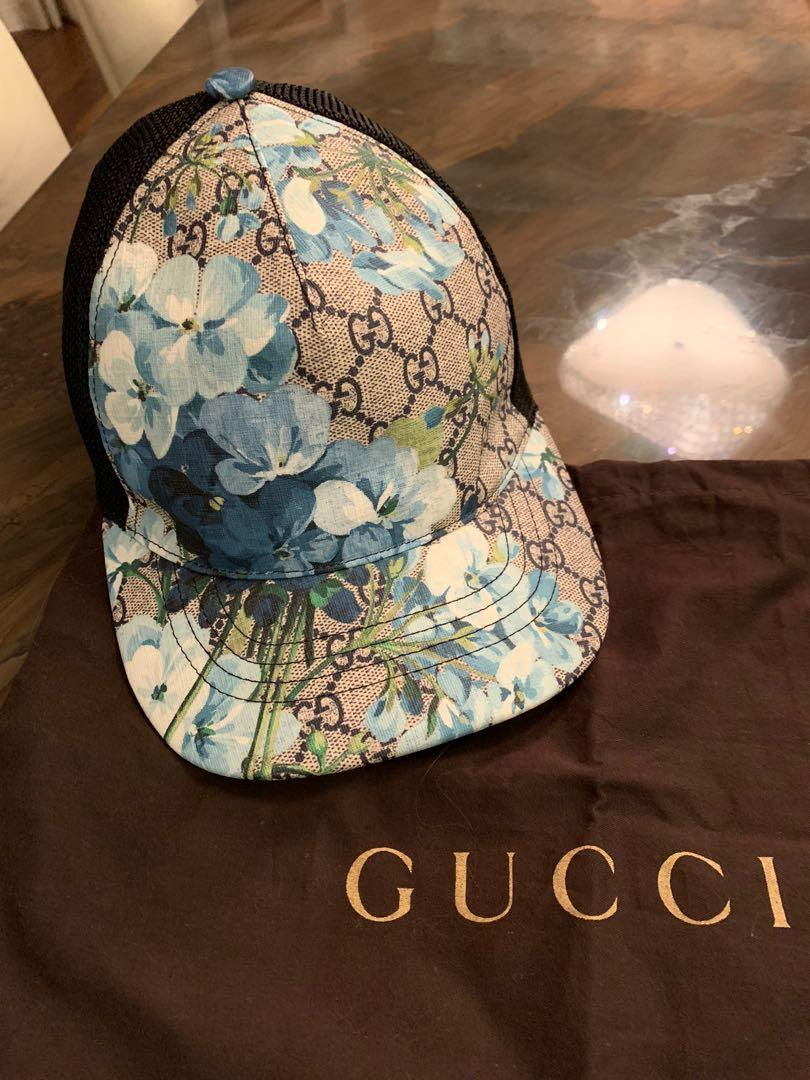 Authentic Gucci blooms unisex baseball cap. Size S