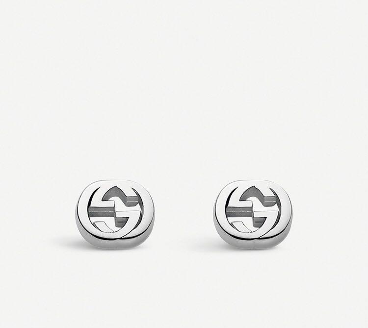 GUCCI interlocking earrings 耳環 made in Italy