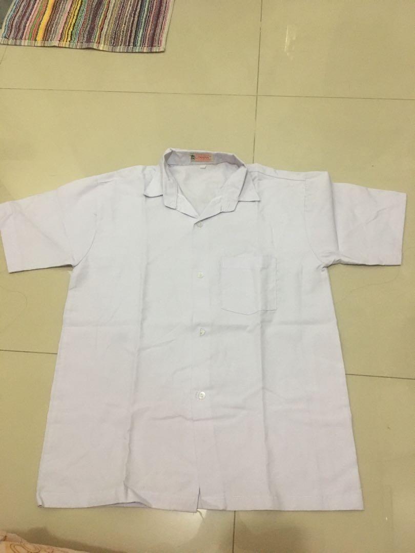 hem seragam putih