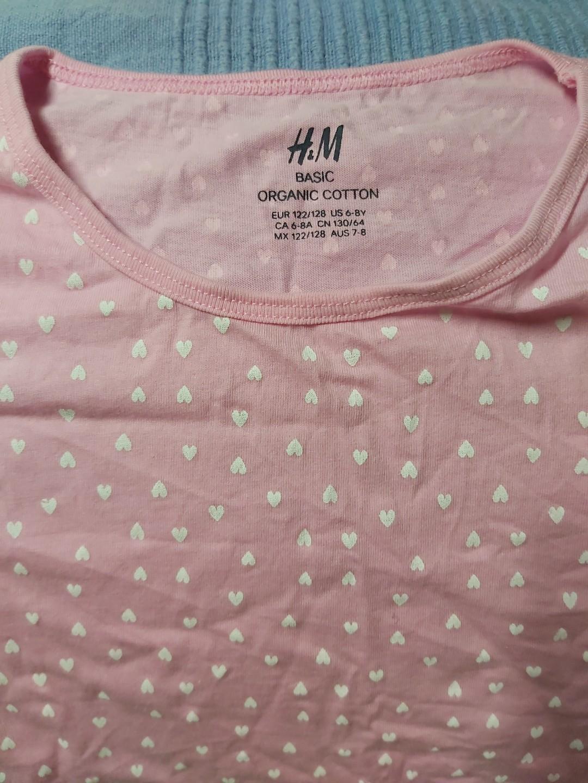 H&M 女童上衣 6-8 yr