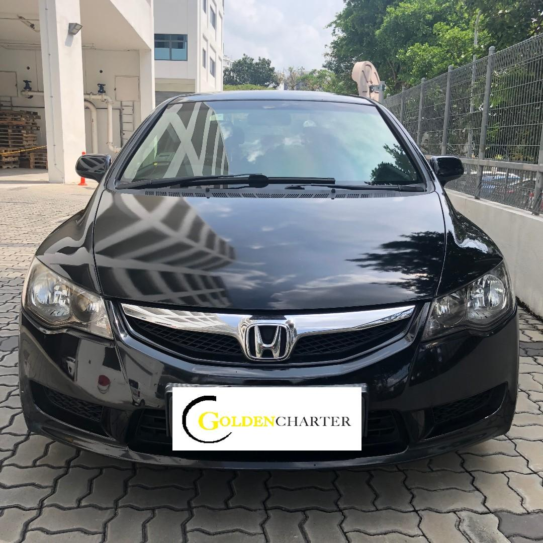 Honda Civic Hybrid Available For Rent ! Weekly gojek rental rebate ! Personal can rent