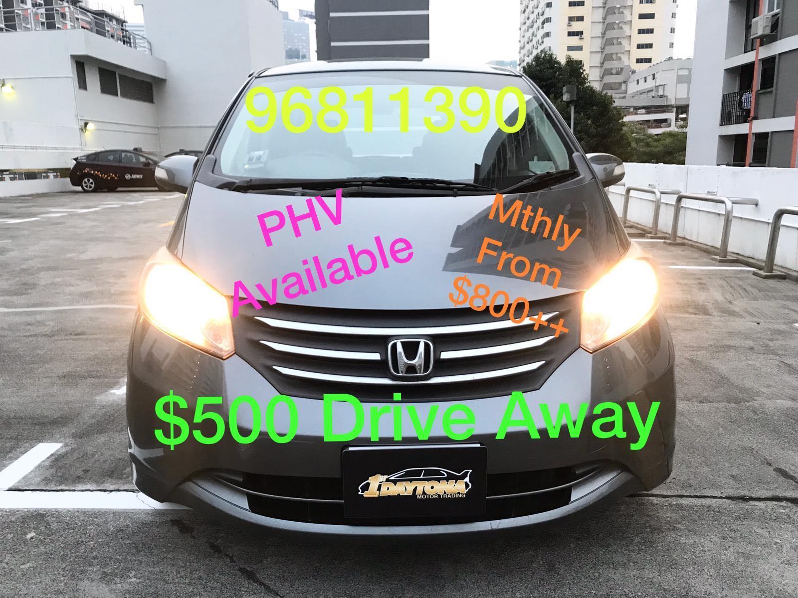 Honda Freed 1.5A G Coe till 11/2023 Auto
