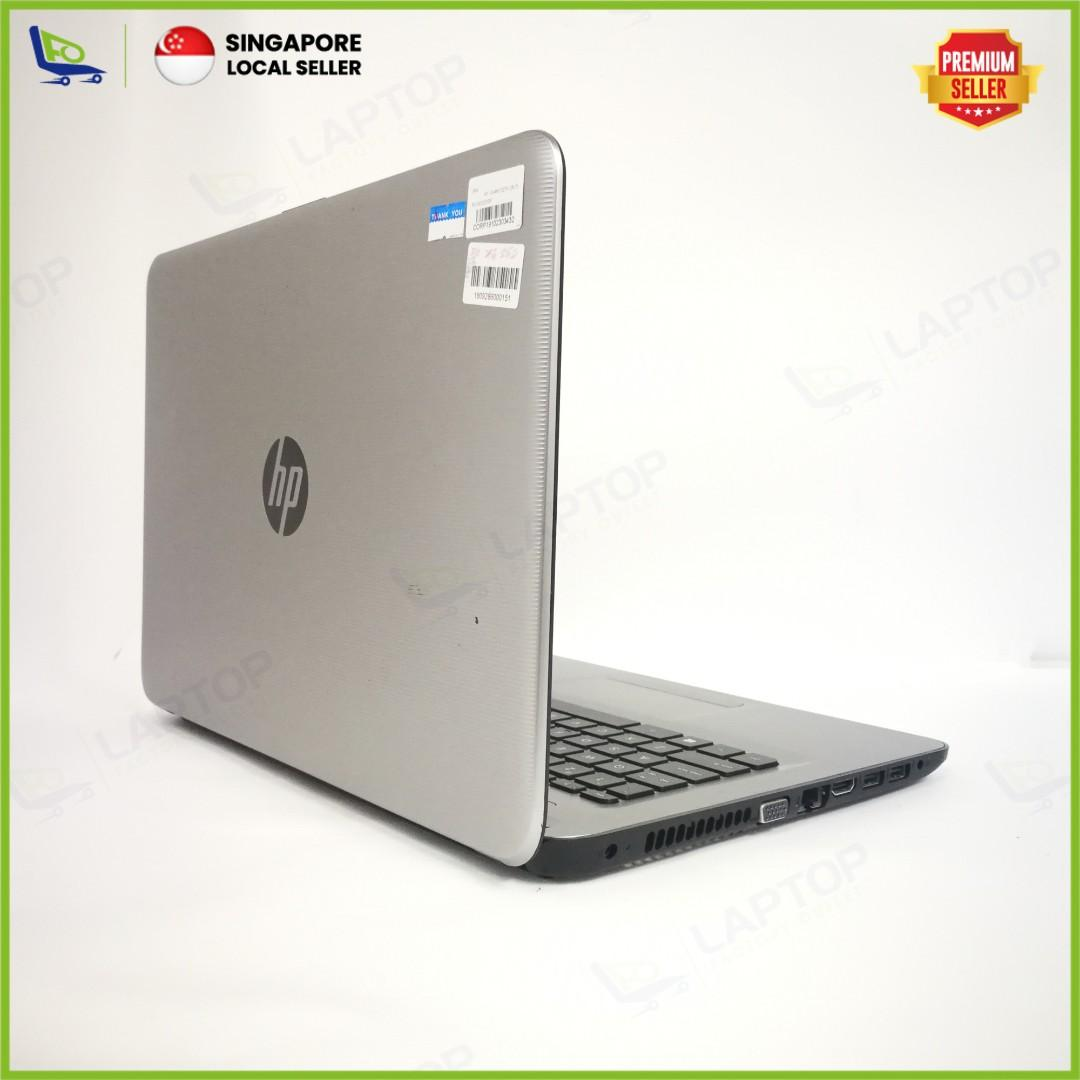 HP Notebook 14-AM102TX (i5-7/4GB/256GB) [Premium Preowned]