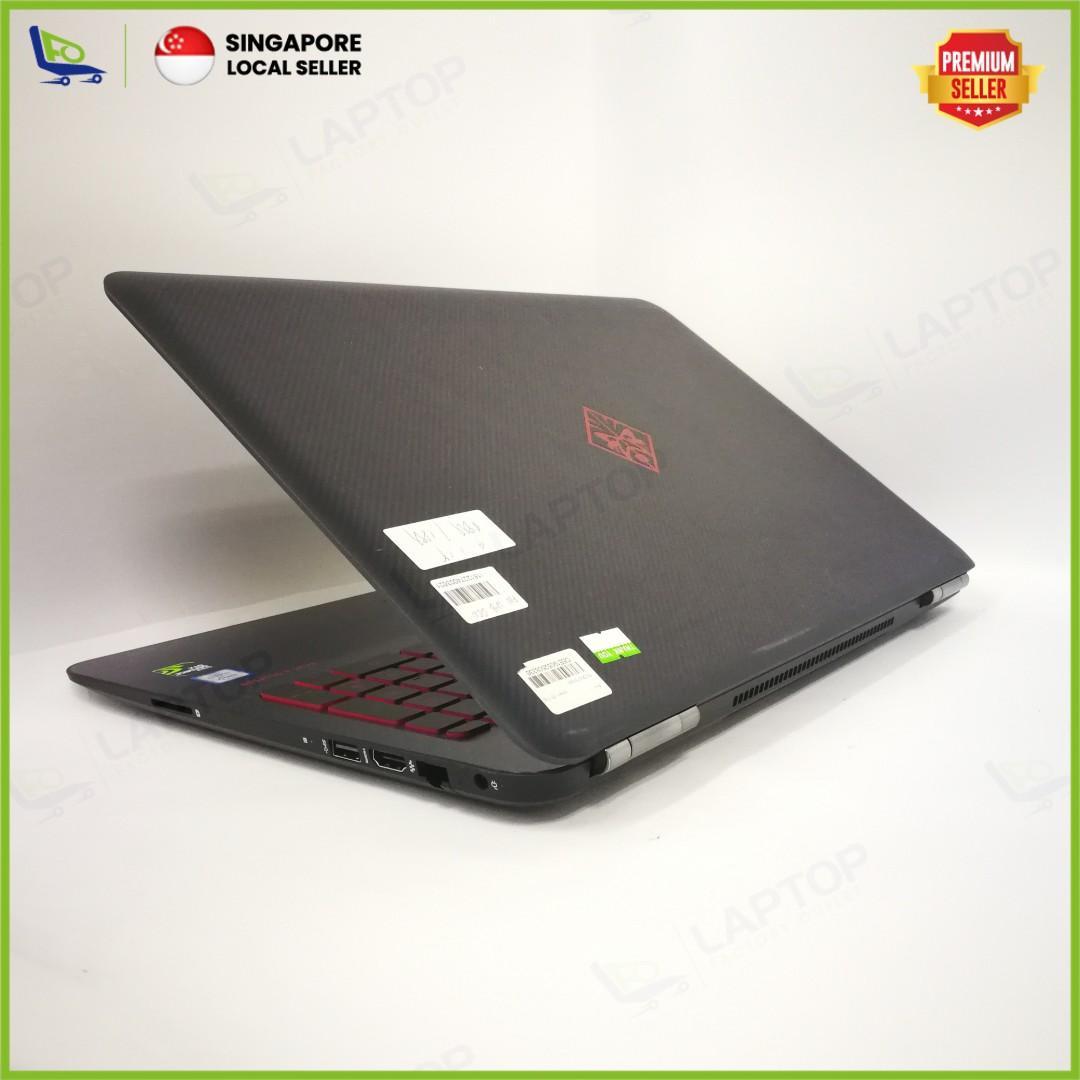 HP OMEN 15-AX044TX (i7-6/16GB/256GB) [Premium Preowned]