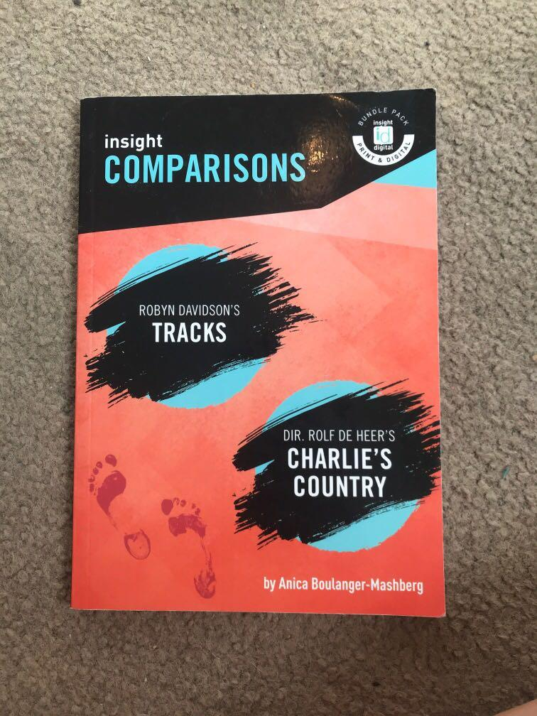 Insights English book: Tracks and Charlie's country