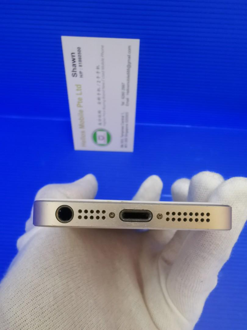 Iphone SE 64gb gold (used)