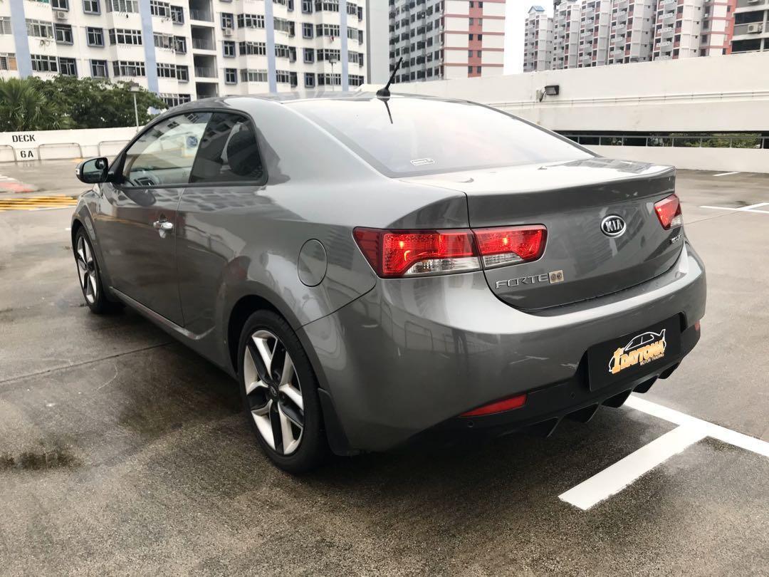 Kia Forte Koup 1.6A SX Sunroof New 5year Coe  Auto