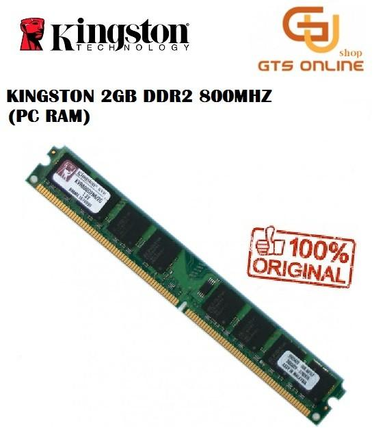 Kingston DDR 2 800Mhz 2GB PC Long dimm (used unit)