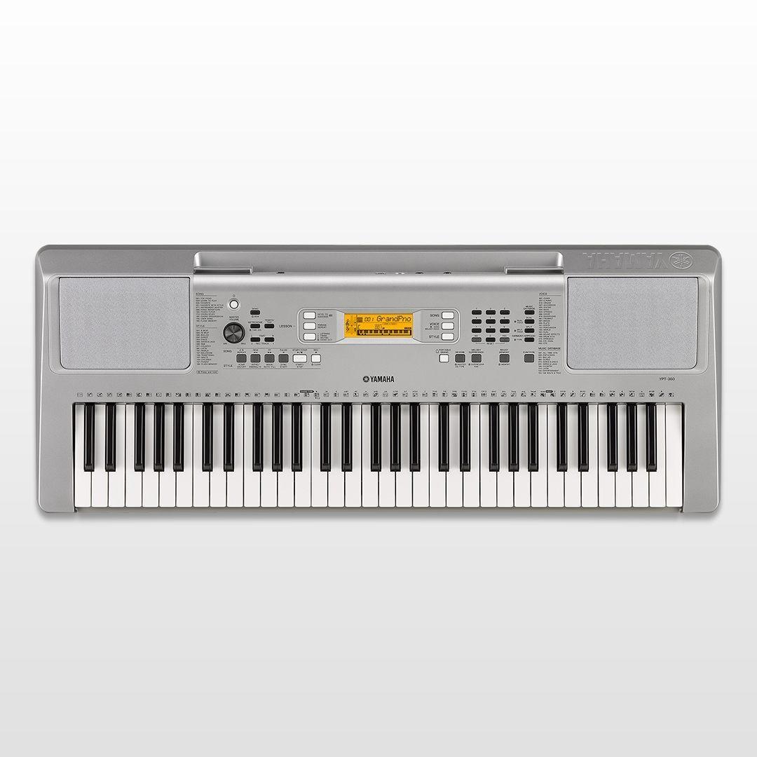 [Last Unit!] Yamaha YPT-360 61 Keys Touch Sensitive Portable Keyboard Display Set Clearance