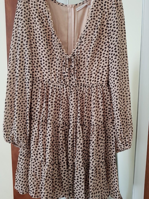Leopard dress size 6 princess polly sundae muse . New