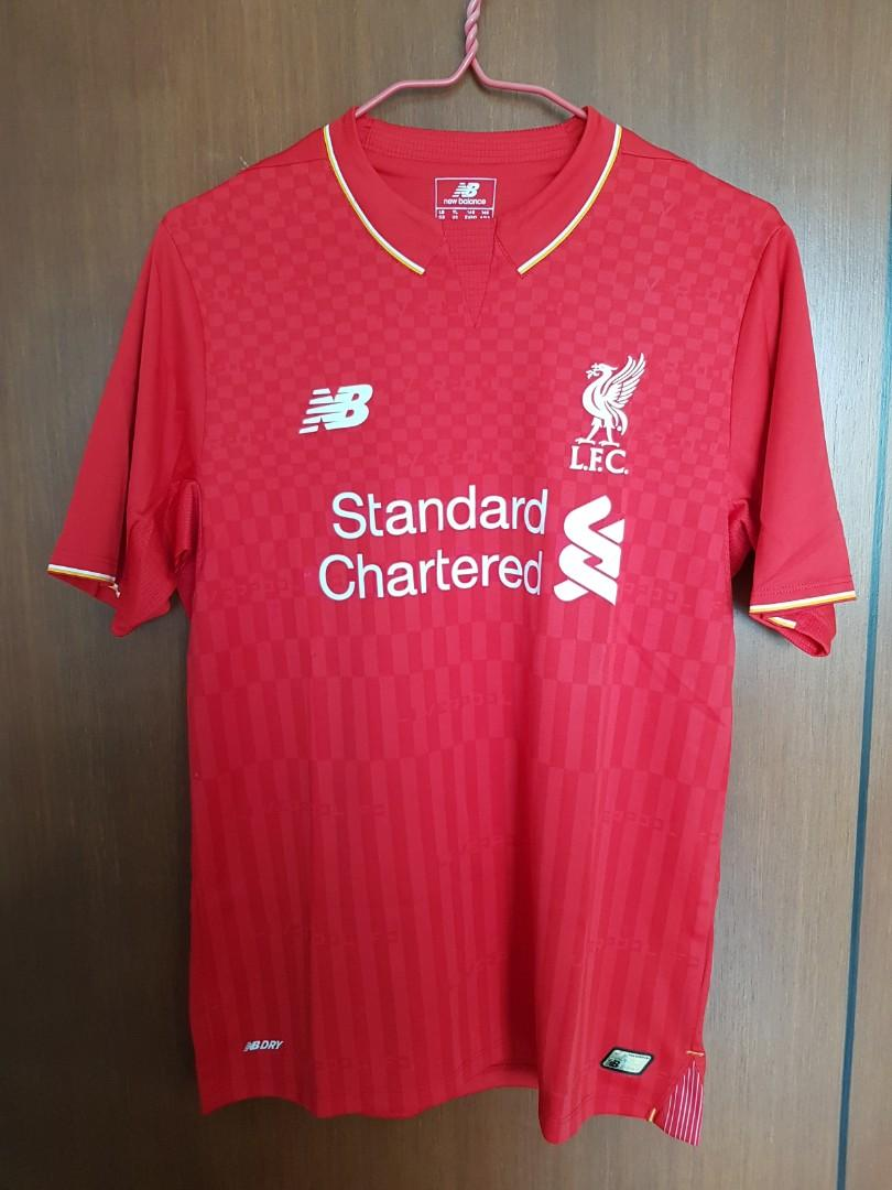 Liverpool 15/16 Home Jersey Youth Size L