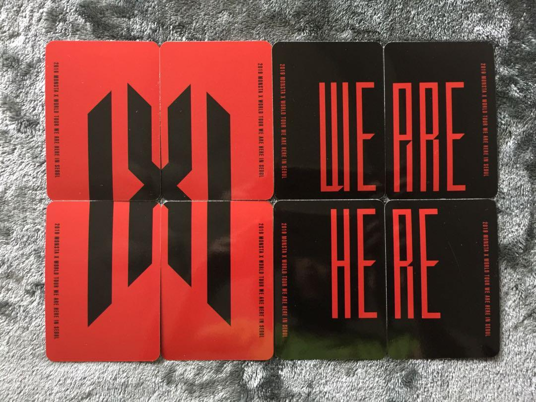 LOOSE • MONSTA X WE ARE HERE WORLD TOUR IN SEOUL 2019 DVD + KIHNO