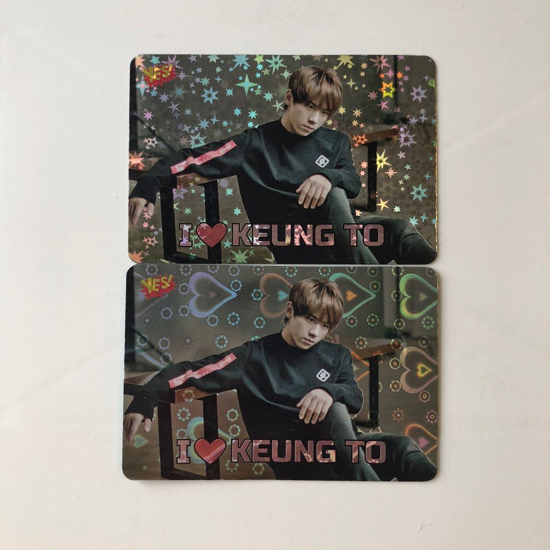 Mirror Keung To 姜濤 Yes! Card 第61期 閃卡