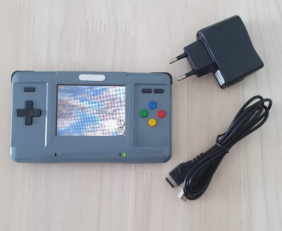 Modded Game Boy Macro Nintendo NDS grey