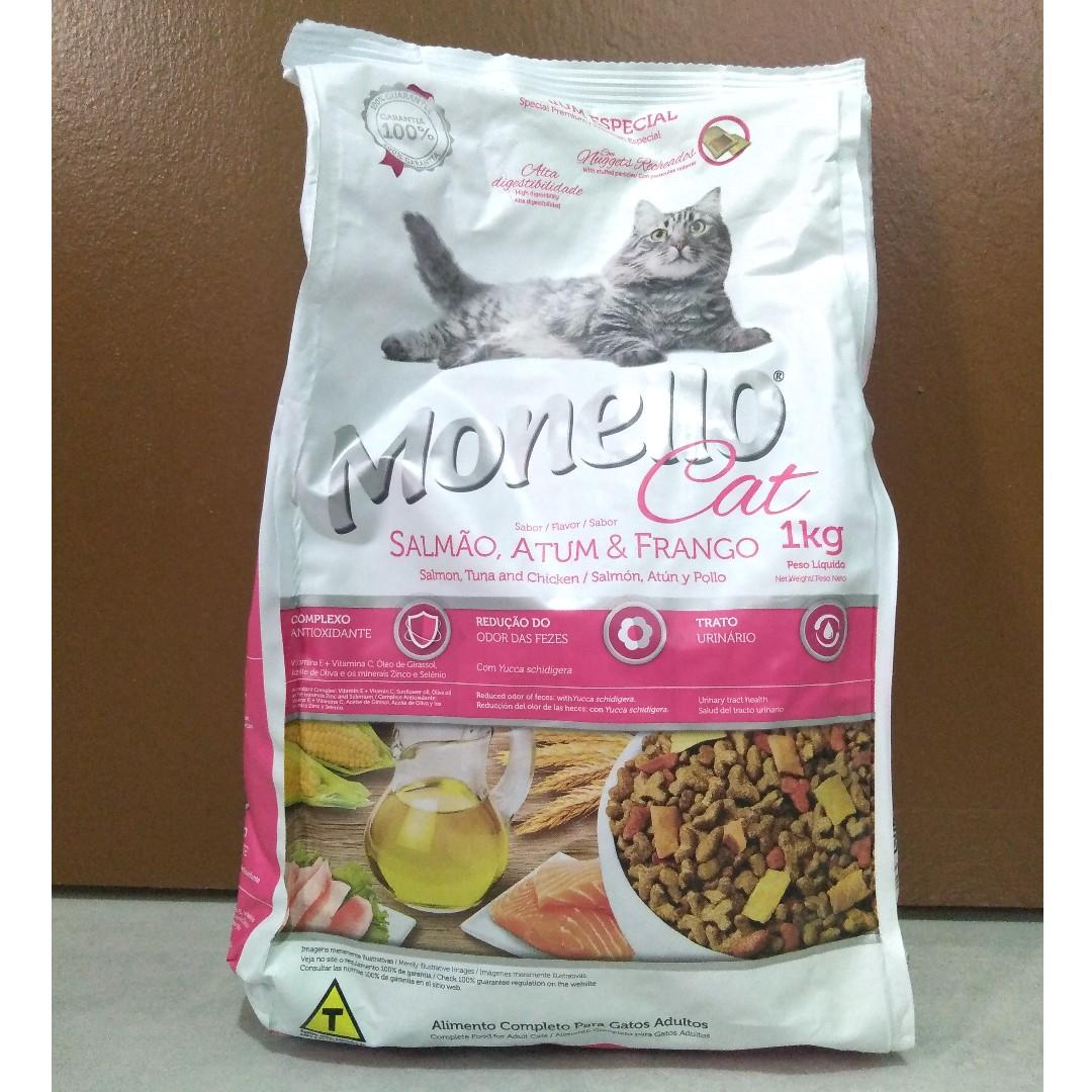 Monello Cat Food 1kg Original Packaging Pets Supplies Pet Food On Carousell