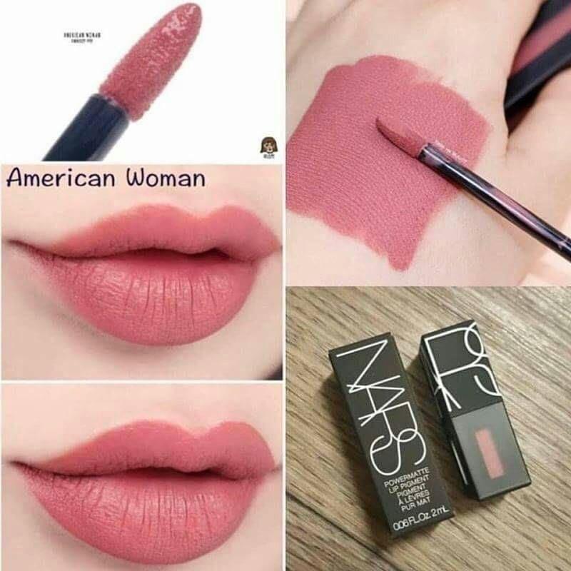 💋NARS新款啞光霧面唇釉唇彩#2772 American Woman