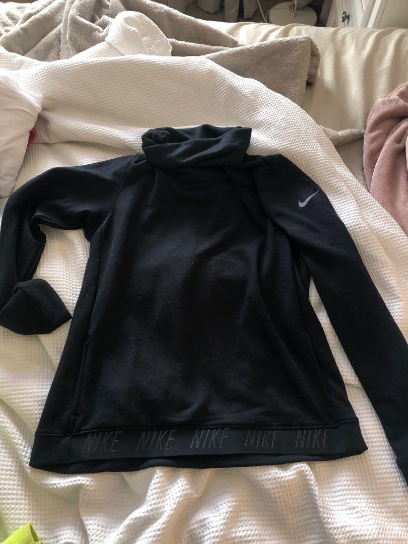 Nike turtle neck jersey