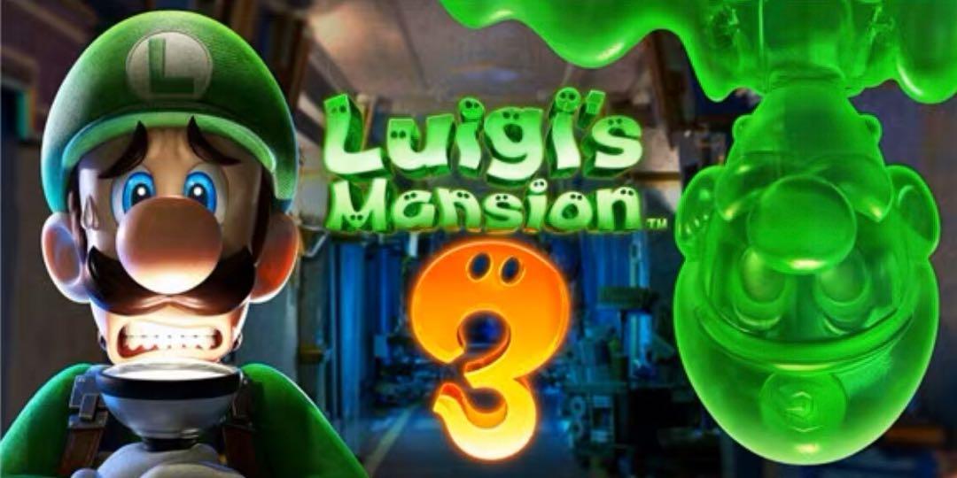 Nintendo Switch  Luigi's Mansion  路易吉鬼屋 下載版
