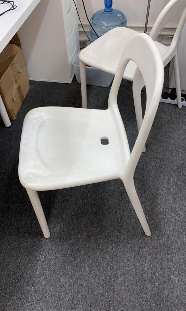White office chair 白色辦公室椅子