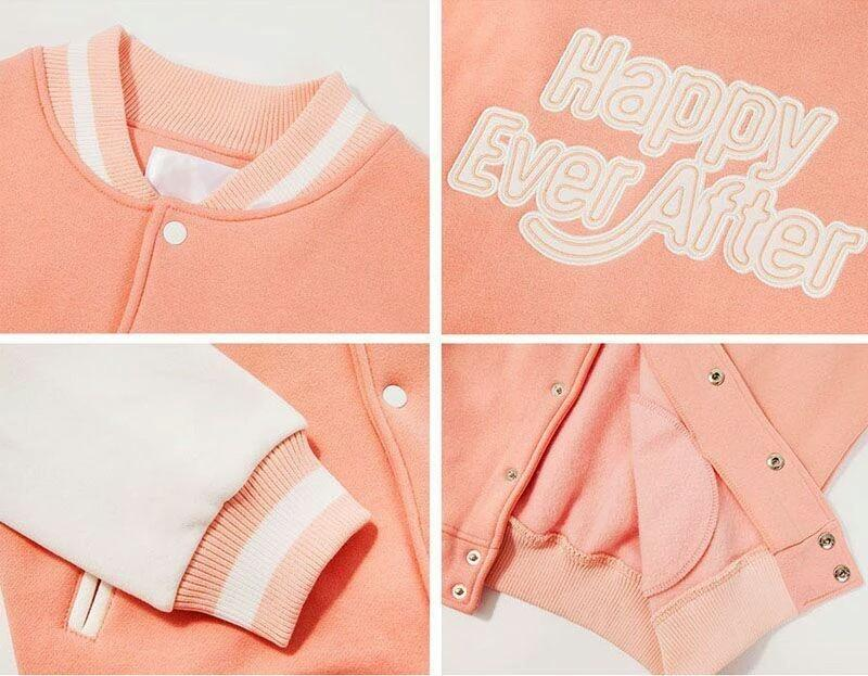 OFFICIAL BTS 4TH MUSTER BASEBALL JUMPER/JACKET [HAPPY EVER AFTER]