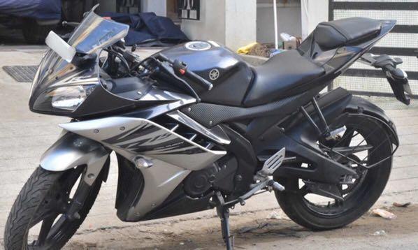 [Rental] Class 2B Yamaha R15 v2 Sports Bike [FAST PROCESSING]