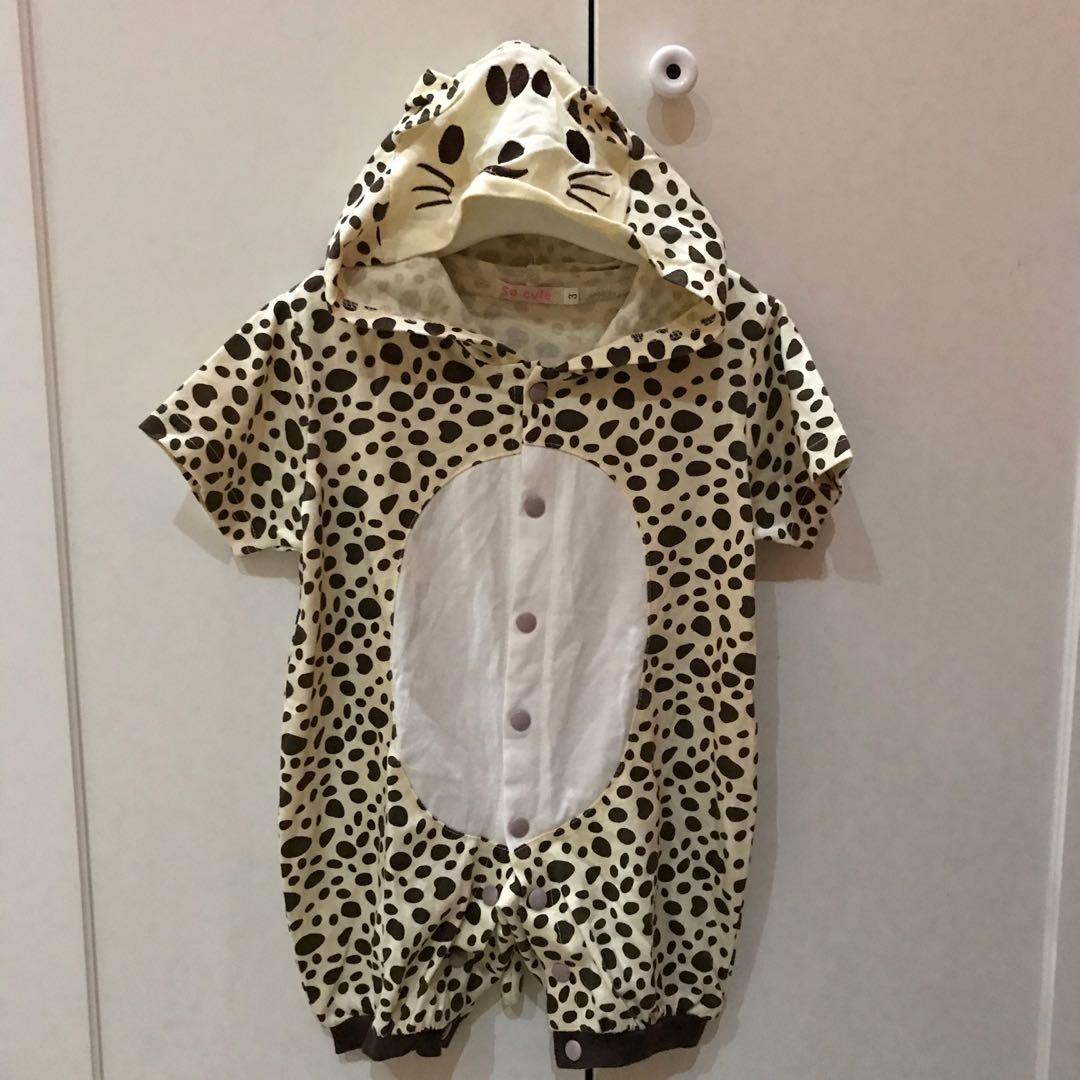 Preloved ! Jumper bayi lucu cheetah size 6-9 bln