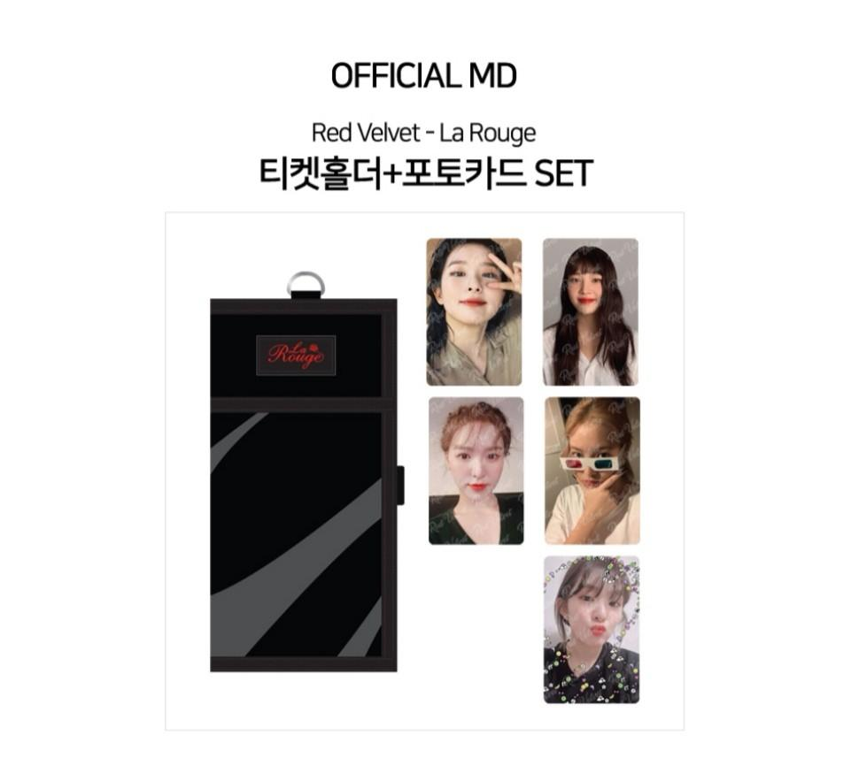 [PREORDER] RED VELVET 3RD CONCERT LA ROUGE OFFICIAL GOODS