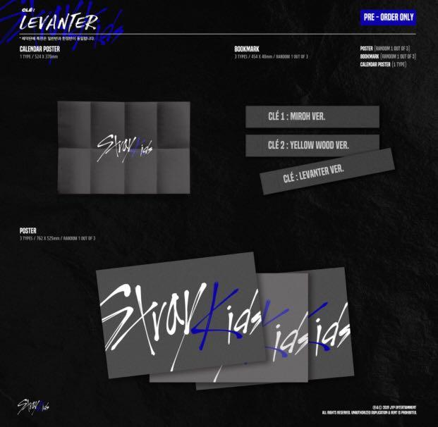[PREORDER] STRAY KIDS - Cle : LEVANTER ( NORMAL VER. )