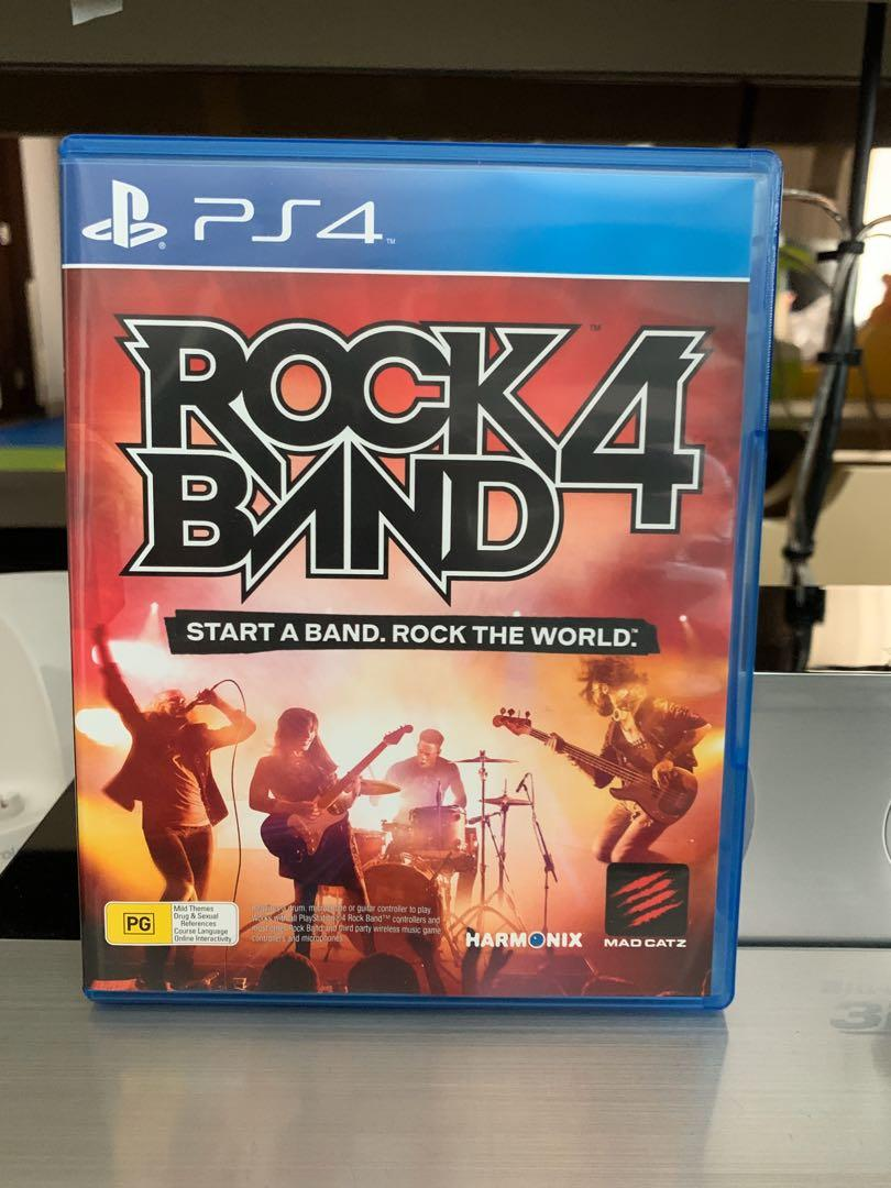 Ps4 rock band 4 complete set