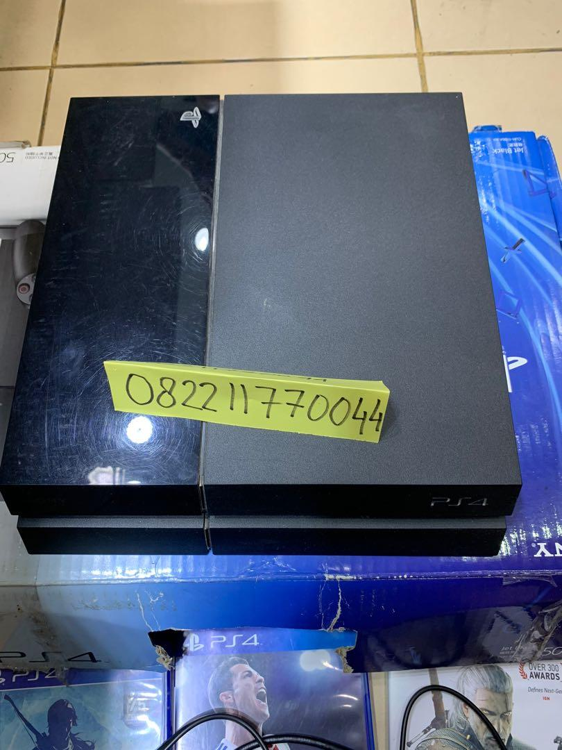 PS4 sony playstation 4 fat tipe cuh-1106a 500gb second