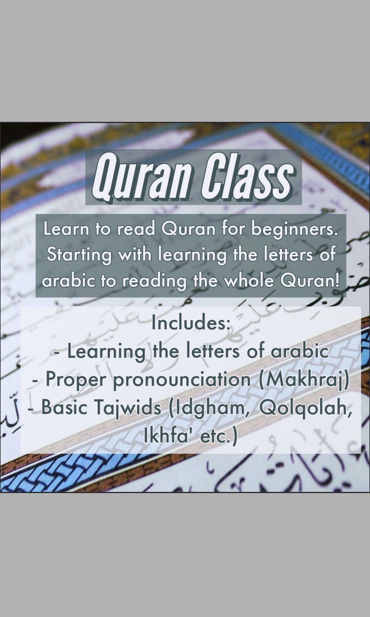 Quran Literacy/Ngaji