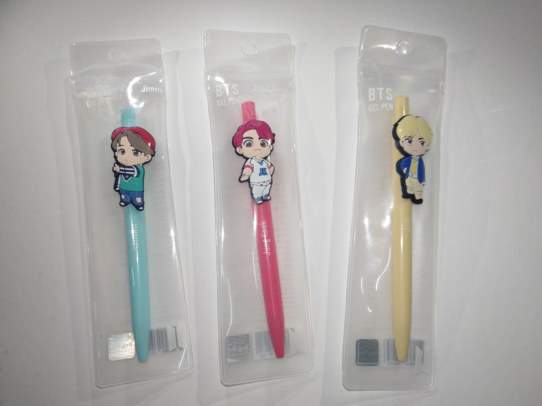 [READY STOCK] House of BTS: Gel Pen (Jung Kook/ Jimin/ Jin)
