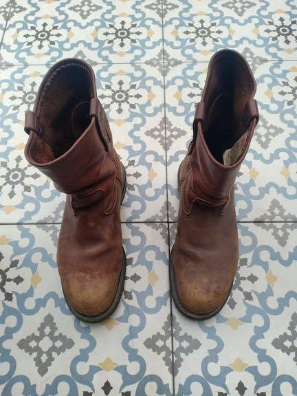 Safety shoes redwing red wing pecos size 41