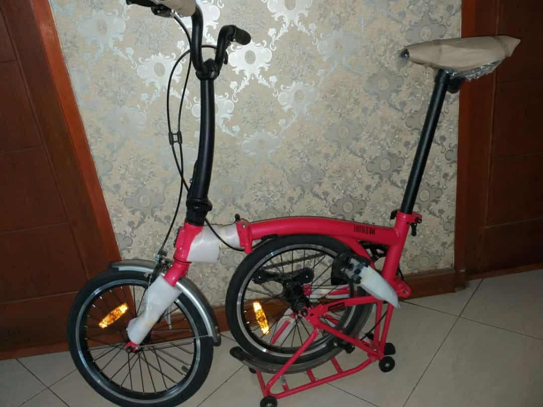 Sepeda lipat bisa dicicil