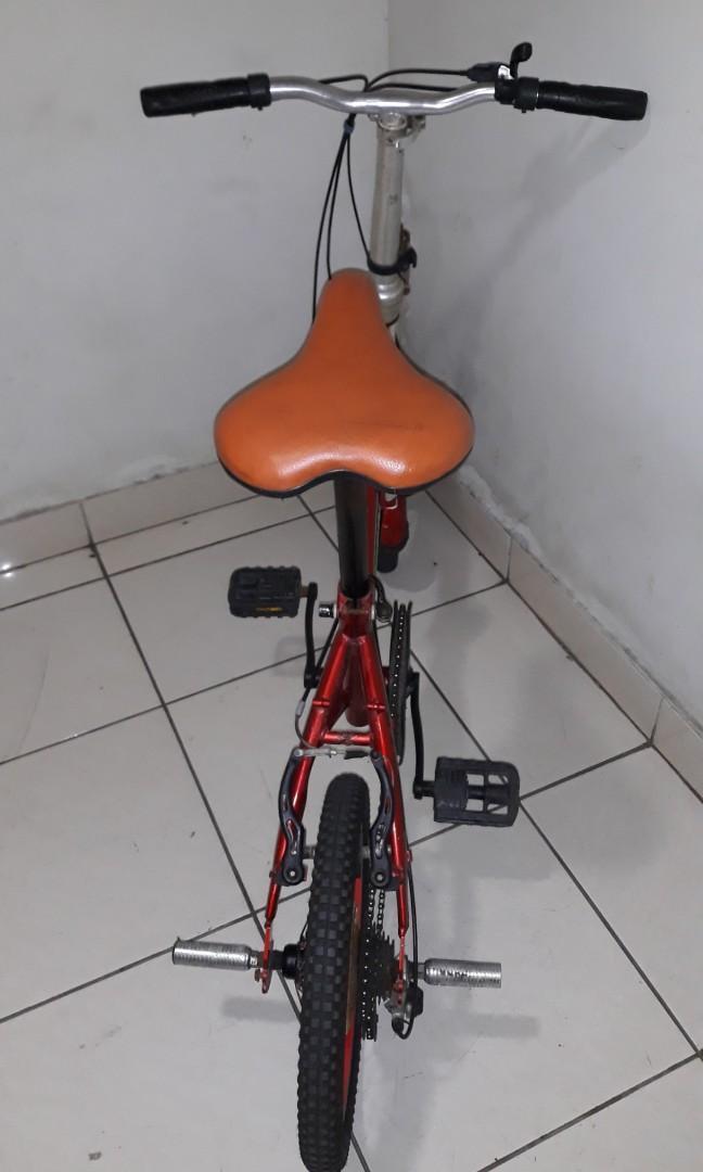 "Sepeda Lipat Gorin, 7 Speed Shimano, Size 16"""
