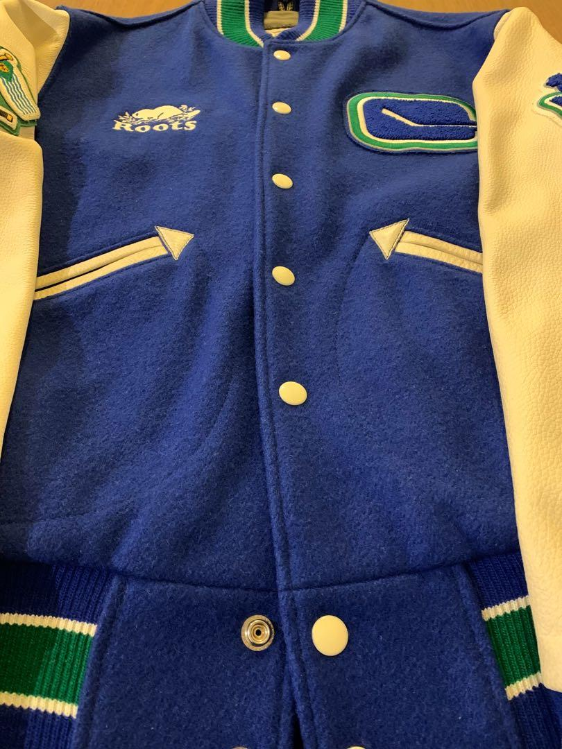 Stanley Cup Finals Vancouver Canucks x Roots varsity jacket