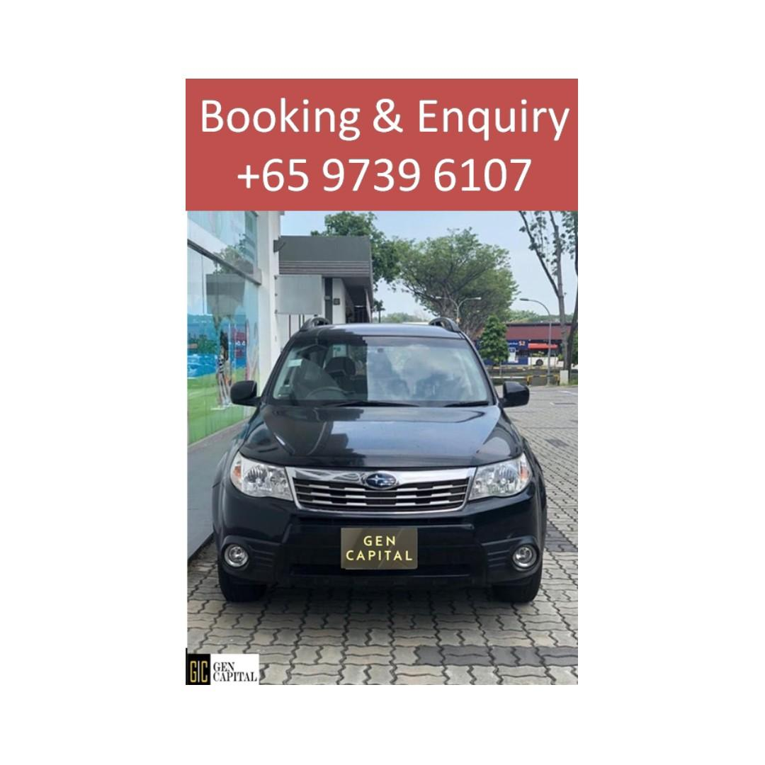 Subaru Forester BLACK - Many ranges of car to choose from, with very reliable rates! @ 9739 6107