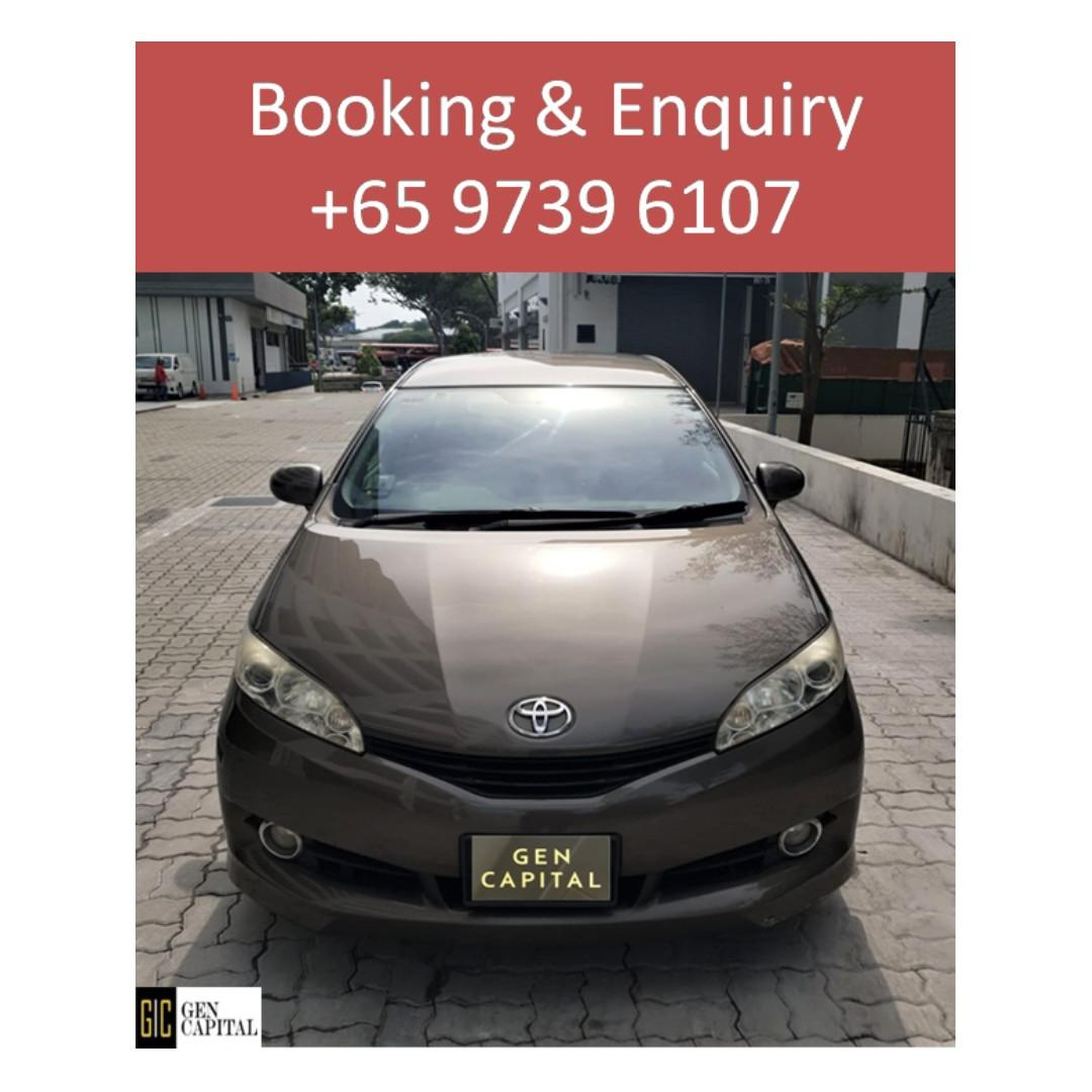 Toyota Wish -  Anytime ! Any day! Your Decision!! Cheapest rates, full support!