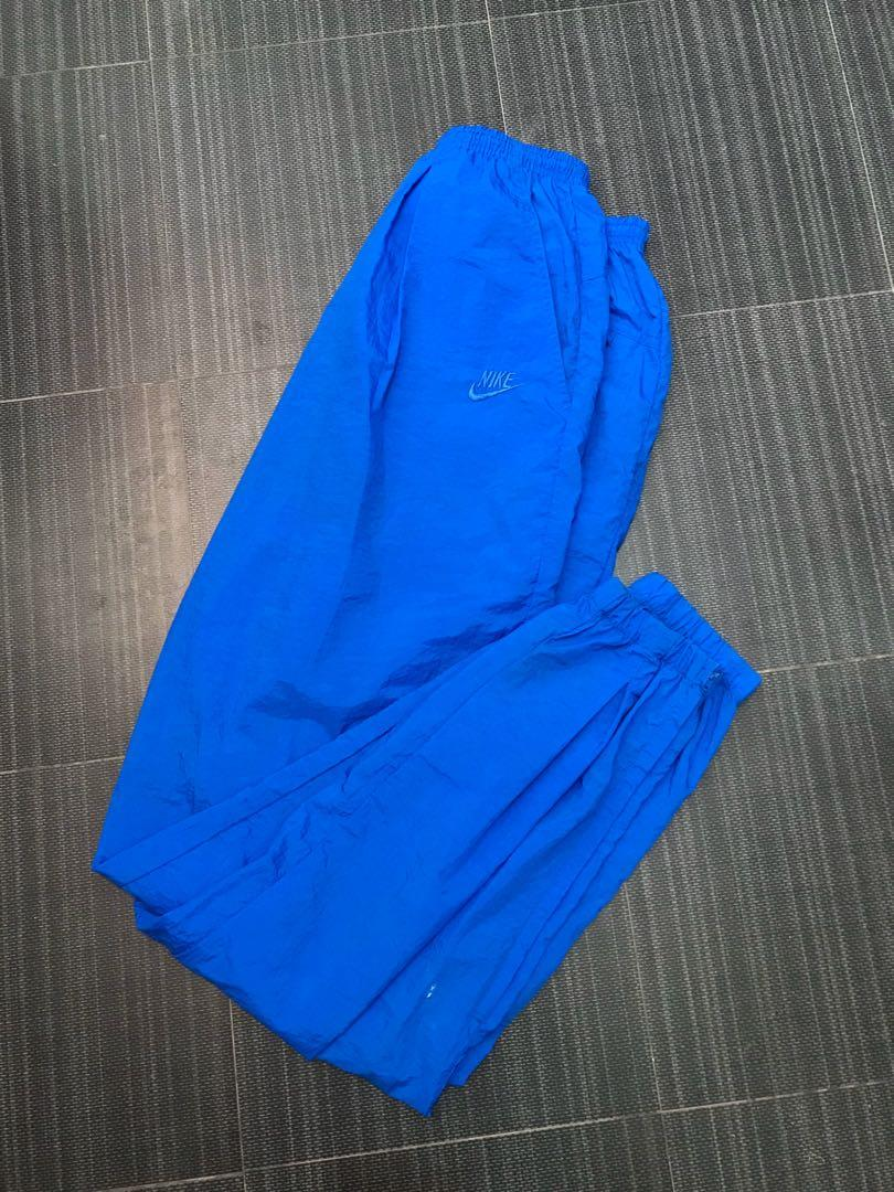 Trackpants Parasut Nike Vintage Blue