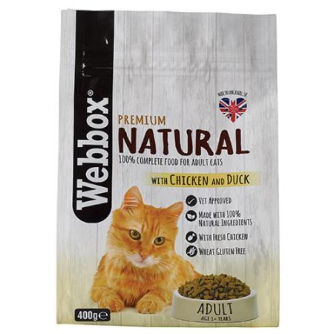 Webbox Natural Chicken & Duck Dry Cat Food (2 for $45)