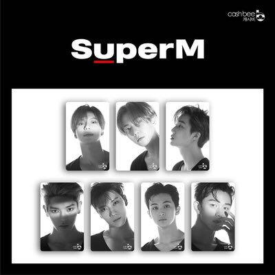 [WTS / PREORDER] SUPERM CASHBEE TRANSPORTATION CARD