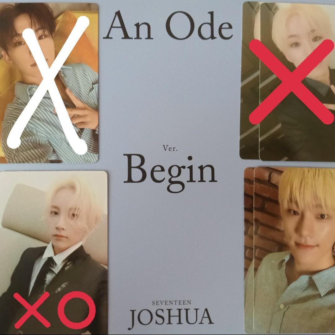 [WTT] SEVENTEEN An Ode Photocards/Photobooks/Circle Stickers/Folding Poster