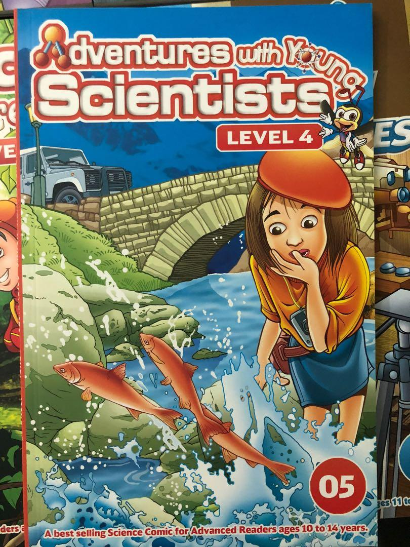 Young scientists Adventure Box level 4