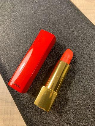 Chanel 香奈兒 超炫耀的極致絲絨唇膏 口紅 按壓紅管 正貨 色號no8