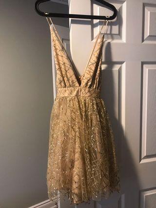 Honey sparkly dress