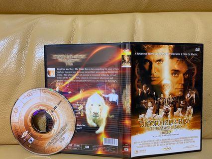『DVD現貨』SIEGFRIED&ROY THE MAGIC BOX
