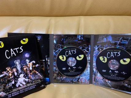 『DVD現貨』CATS雙碟裝