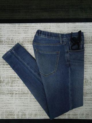 UNIQLO EZY JEANS SLIM FIT DENIM PANTS SELUAR