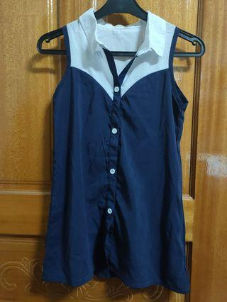 【全新童裝】零碼童裝 女童洋裝 無袖洋裝15碼