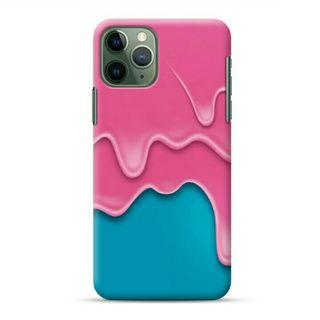 Pink Ice Cream iPhone 11 Pro Max Custom Hard Case